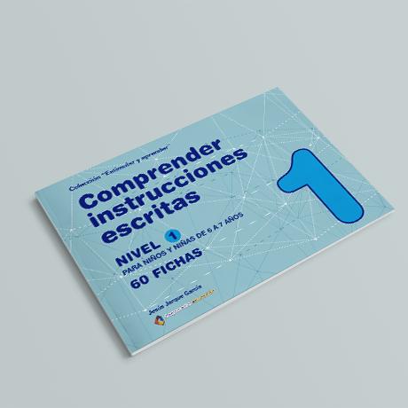 Cuaderno de comprensión instrucciones escritas nivel 1