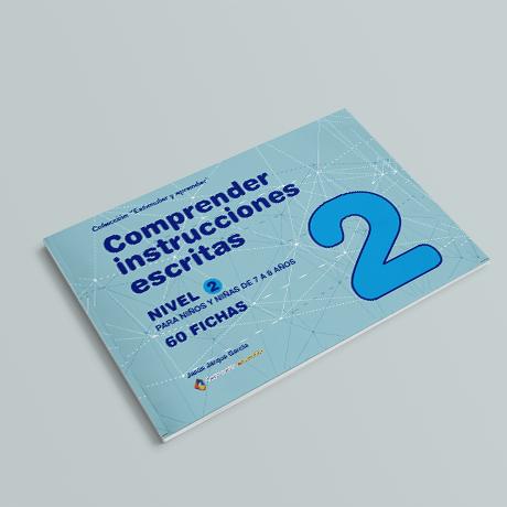 Cuaderno de comprensión instrucciones escritas nivel 2