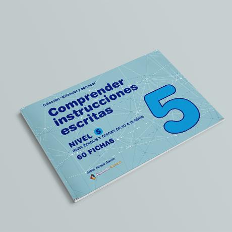 Cuaderno de comprensión instrucciones escritas nivel 5
