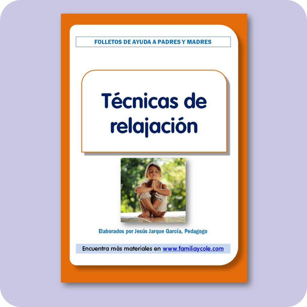 Folletos para familias: técnicas de relajación para niños.