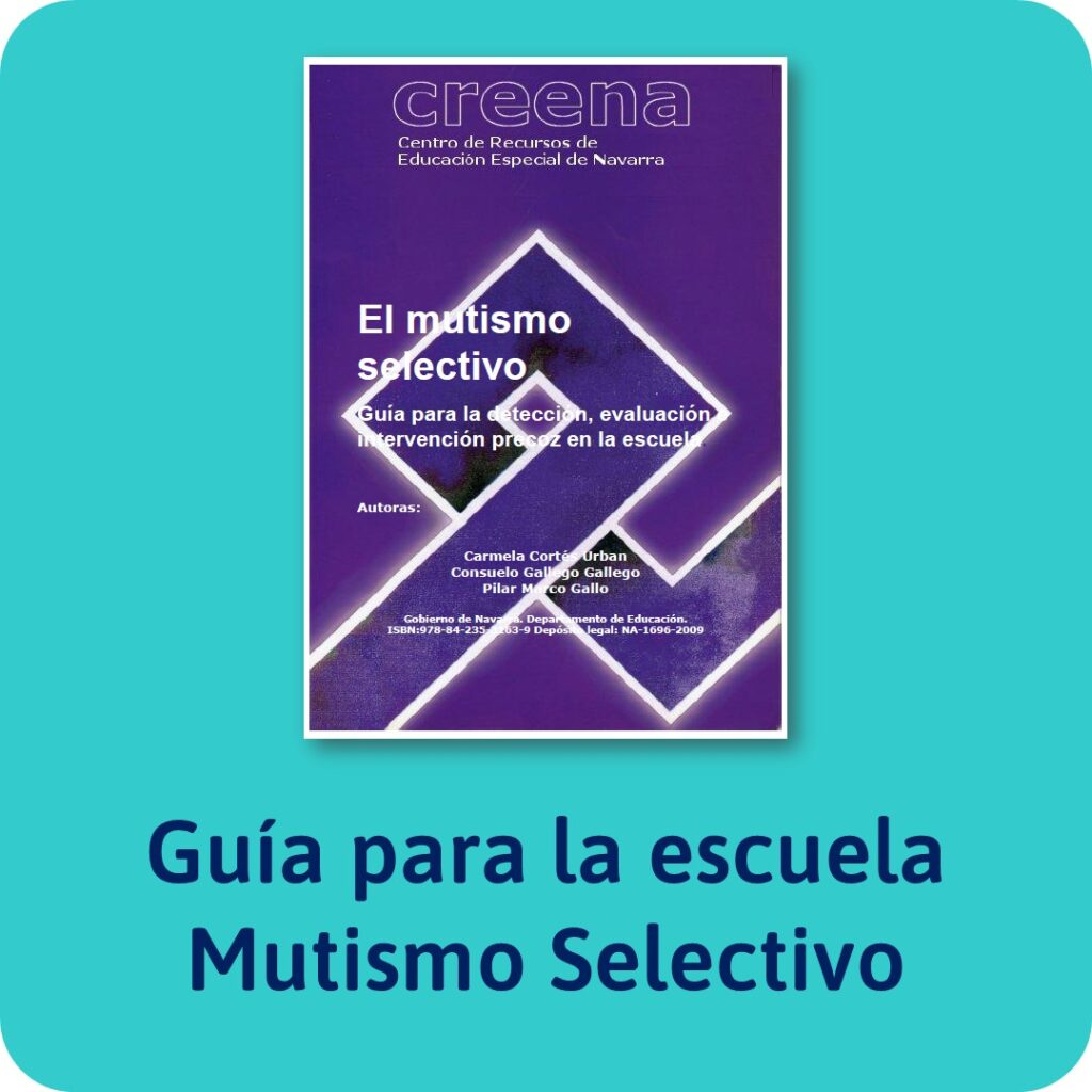 Guías sobre trastornos infantiles: El mutismo selectivo.