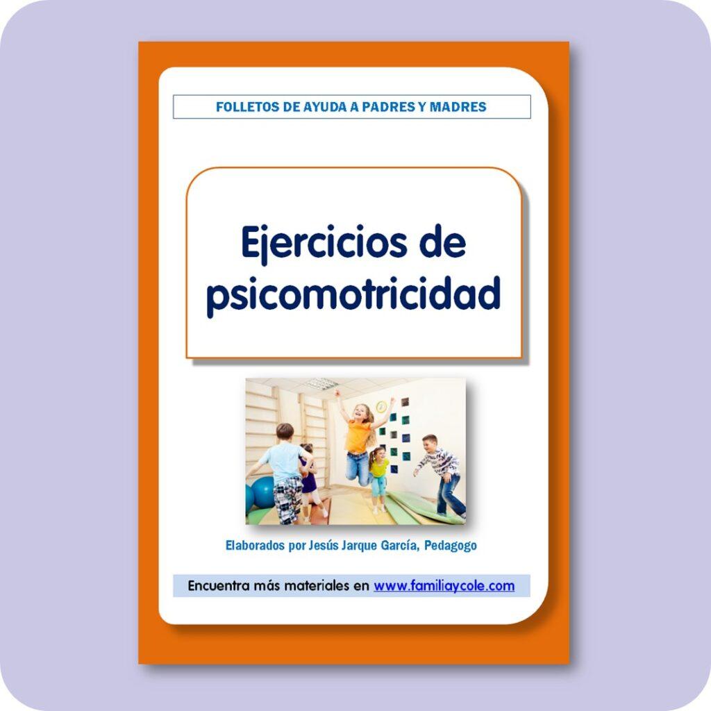 Folletos para familias: ejercicios de psicomotricidad para niños