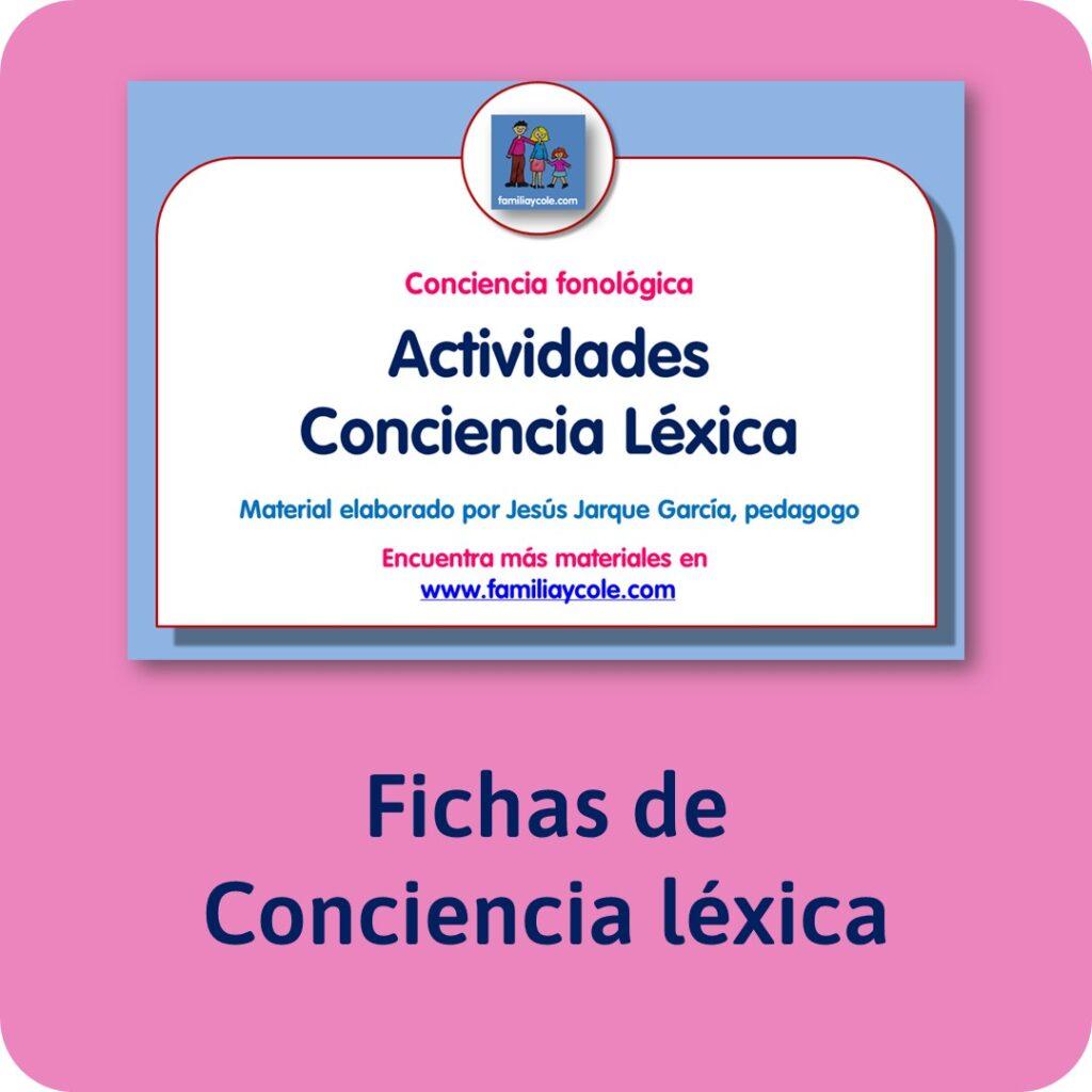 Materiales para Educación Infantil de conciencia fonológica