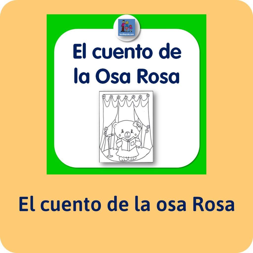 El cuento de la Osa Rosa, de Jesús Jarque