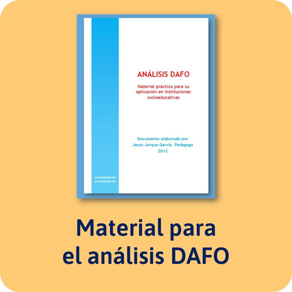 Material para realizar un DAFO